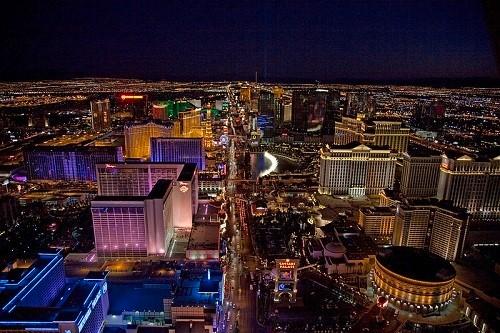 The Vegas Strip by Carol M. Highsmith