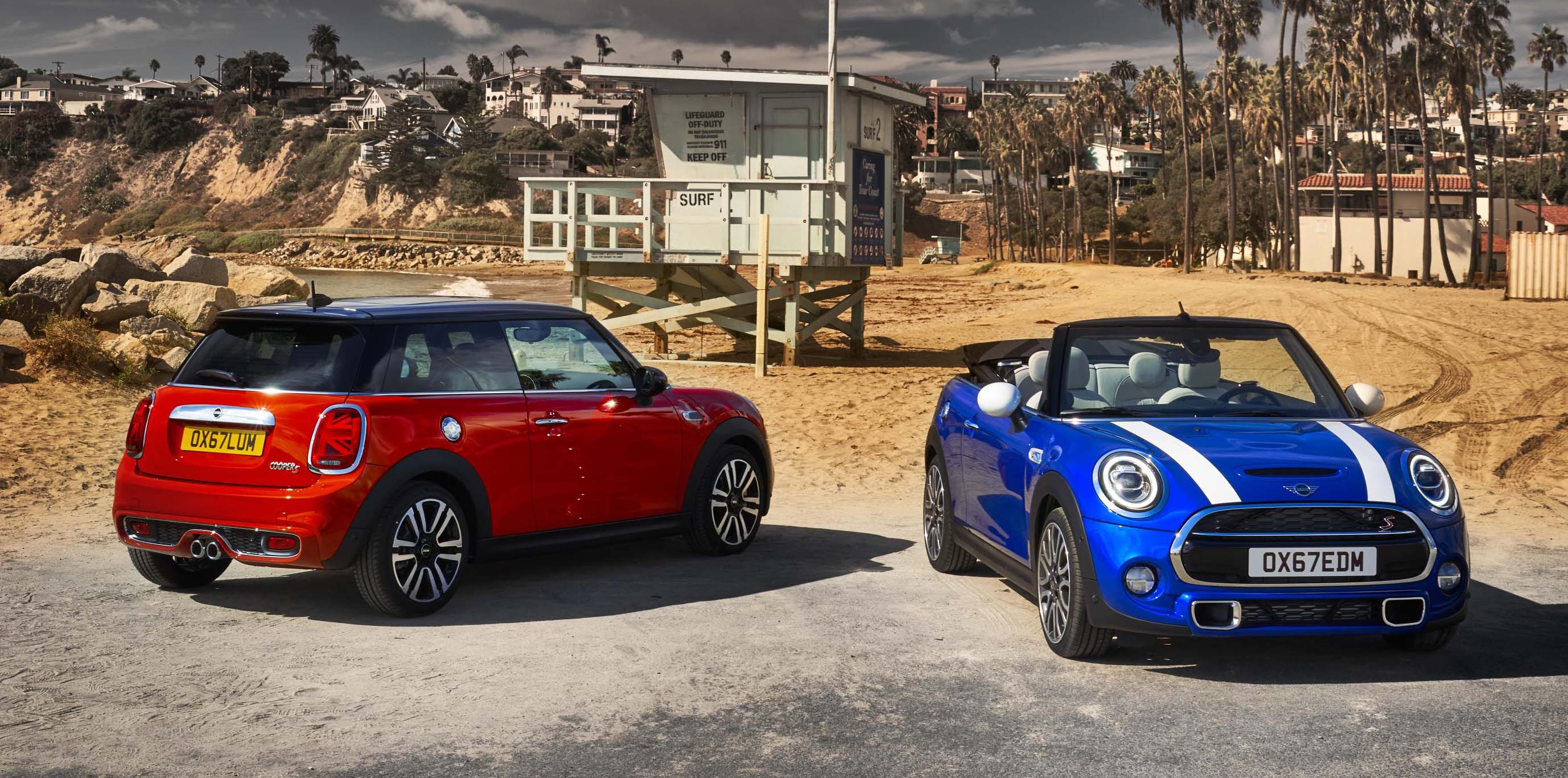 The New Mini 3 Door Hatch, Mini 5 Door Hatch And Mini Convertible