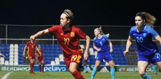 Spain Women beat European Champions at Pinatar Arena