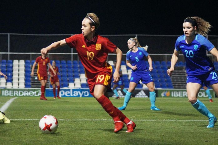 Spain Women beat European Champions at Pinatar Arena