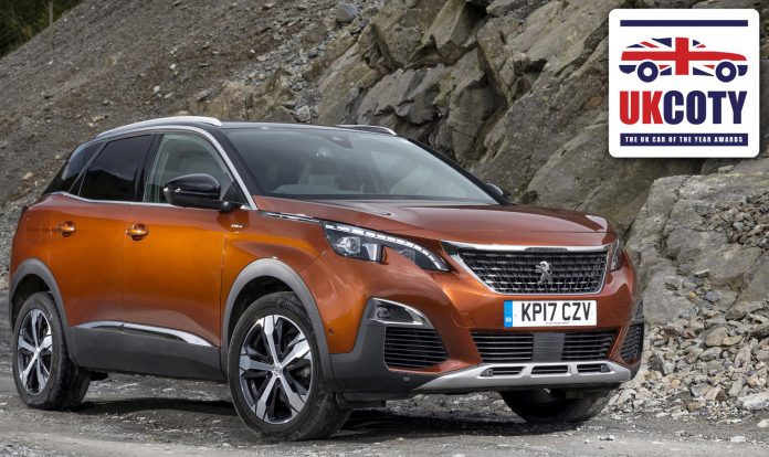 Peugeot 3008 SUV announced as 'Best Family Car' in the UK Car of the Year Awards 2018