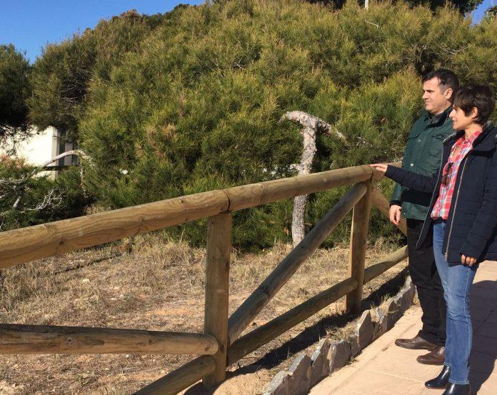 La Glea fence restored around protected area