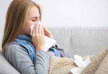 Five deaths caused by flu epidemic