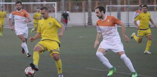 Torry's latest signing, Calderon, late of Novelda and Cadiz