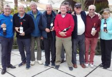 Orba Warblers Golf Society Wednesday 21st February, Bonalba