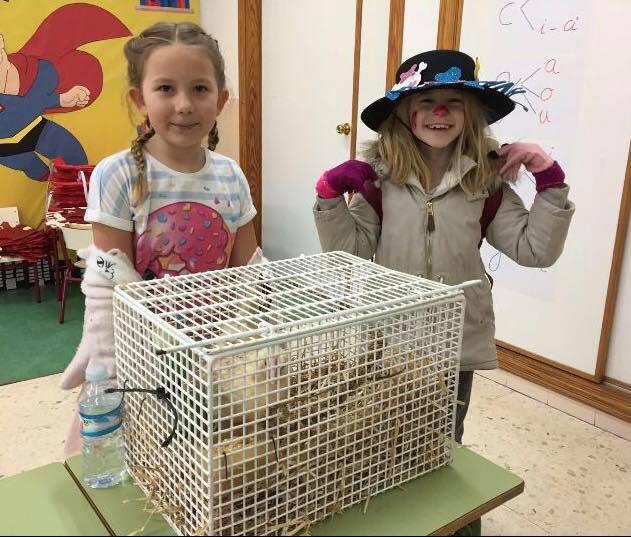 Finca La Castellana reach out to San Miguel school