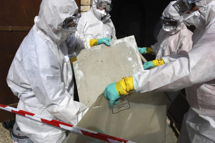 Asbestos Alert in another dozen of schools