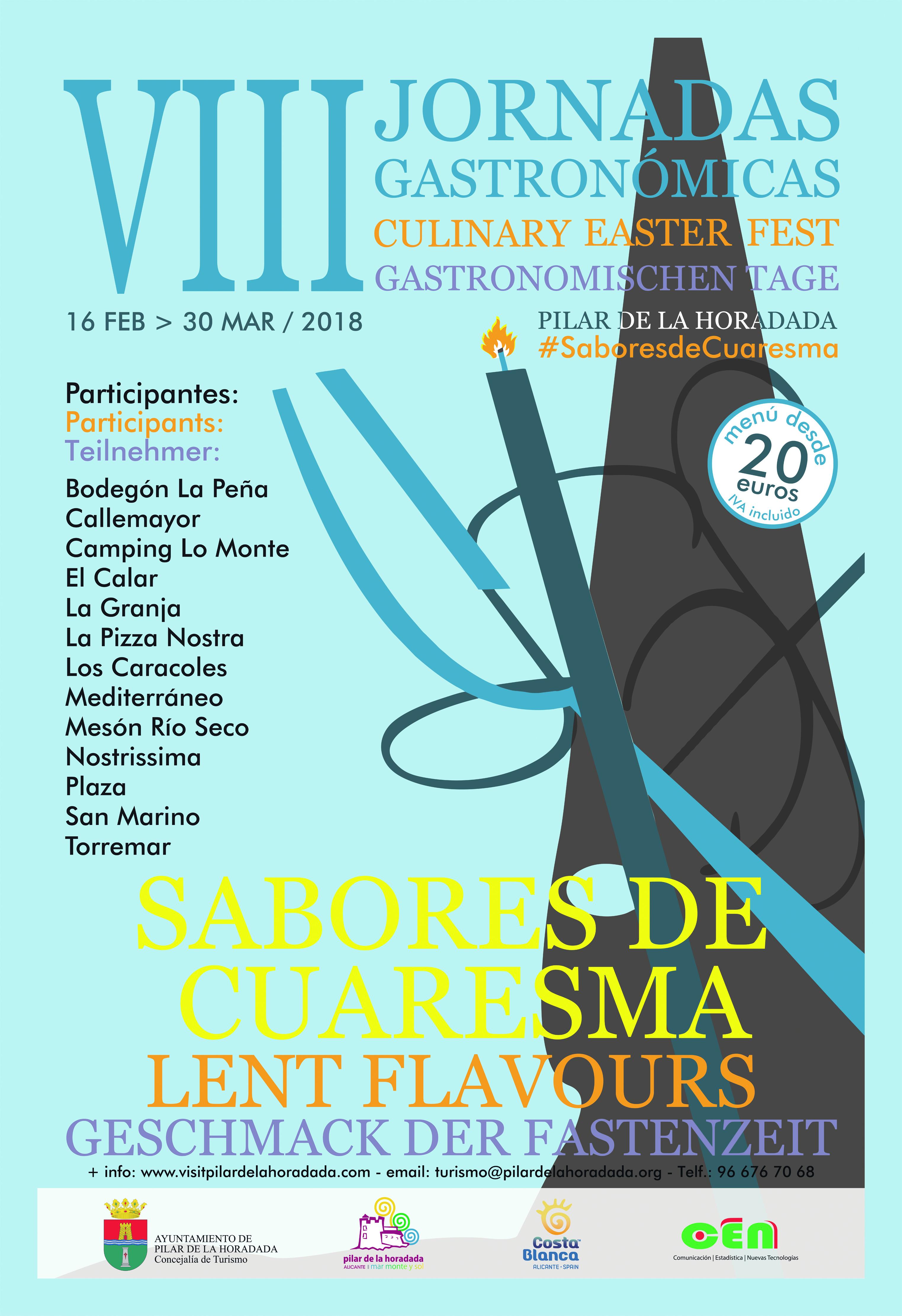 Flavours of Lent in Pilar de la Horadada