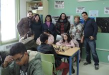 Mojácar's Junior Chess Tournament