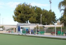 Horadada Bowls Club  by  Barry Evans
