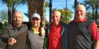 San Miguel Golf Society at Hacienda Riquelme. February 14th, 2018