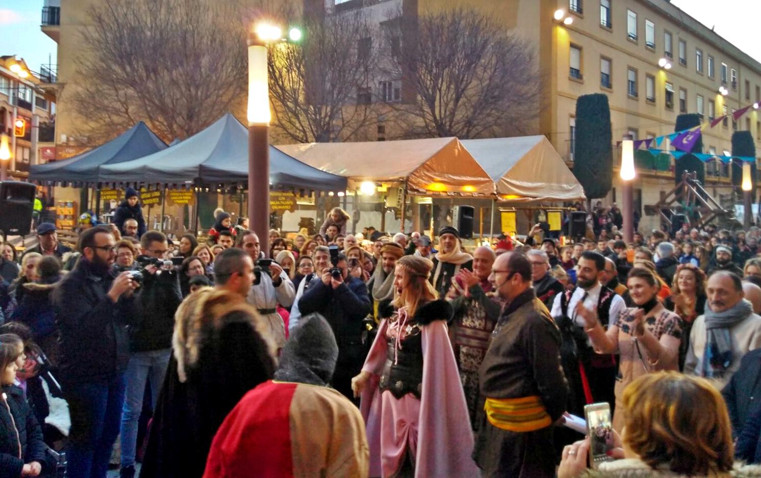 Spain's largest Medieval Market gets underway despite the rain