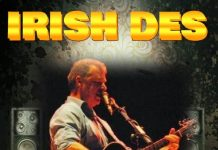 Irish Des entertains for Valentine's Day