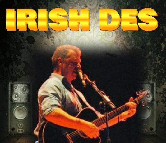 Irish Des entertains for Valentine's Day