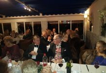 Freemasons of Javea 40 hold Ladies Night