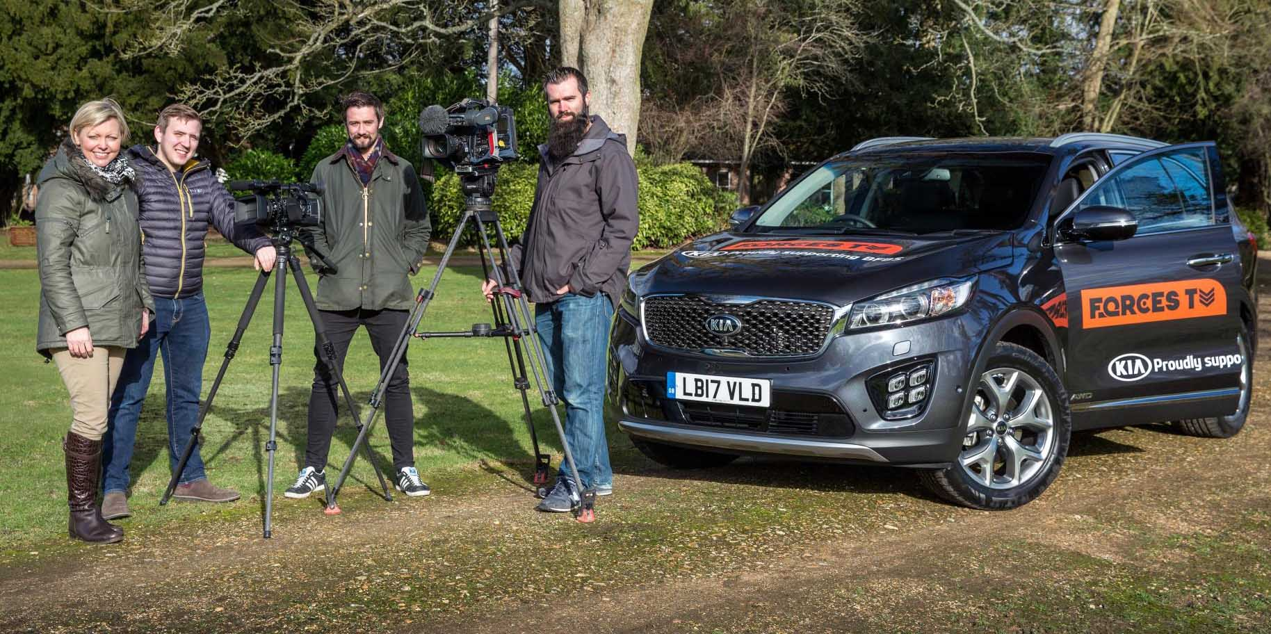 Kia Motors To Support Forces Tv In The Alps For The Sixth  # Muebles Sorento