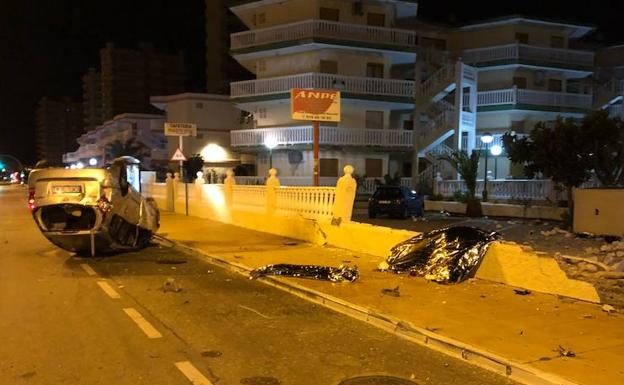 Driver decapitated in La Manga traffic accident