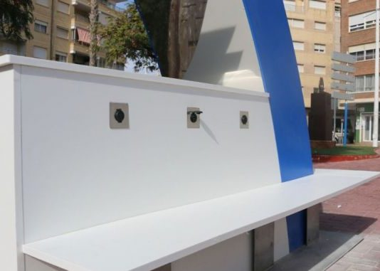 Torrevieja installs a solar mobile charger
