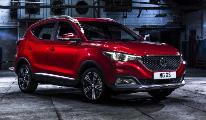MG named UK'S best performing car brand