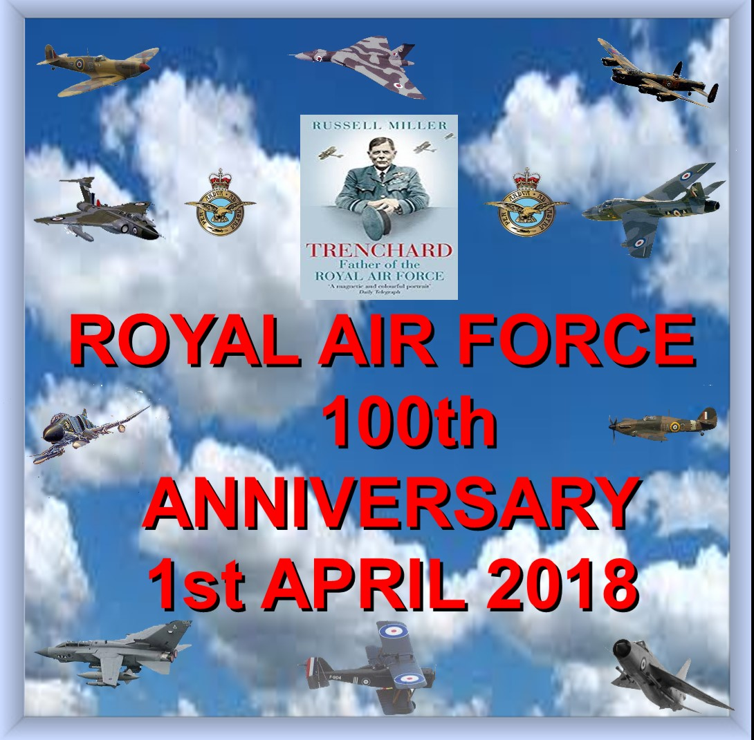 Celebrating One Hundred years of the RAF