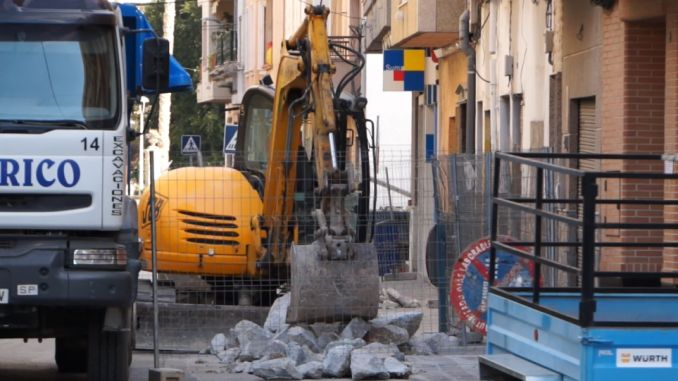 Urgent sanitation work underway in Callosa