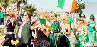 St Patricks Day in Cabo Roig