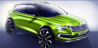 ŠKODA VISION X: Urban Crossover study celebrates world premiere at Geneva Motor Show 2018