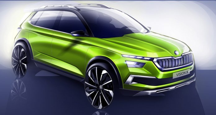 ŠKODA VISION X: Urban Crossover study celebrates world premiere at Geneva Motor Show 2018
