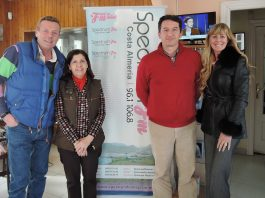 Mojácar's Mayor, Rosmari Cano and Tourism Councillor Emmanuel Agüero, talk on Spectrum Radio
