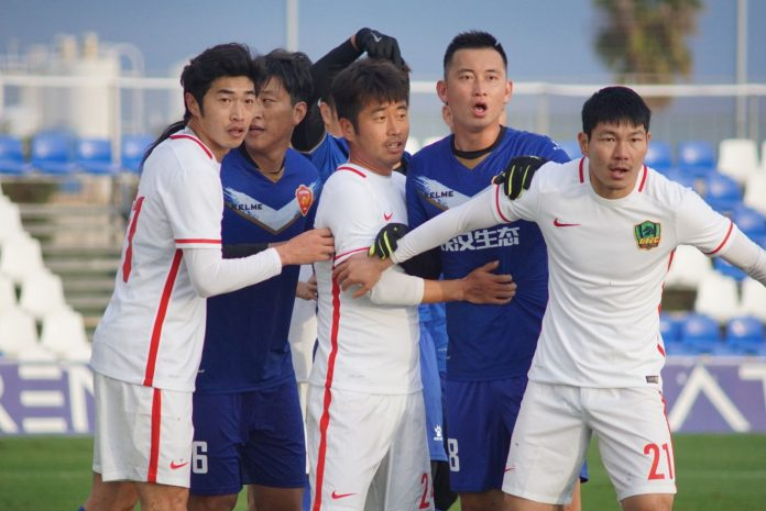 China and South Korea take over the Pinatar Arena