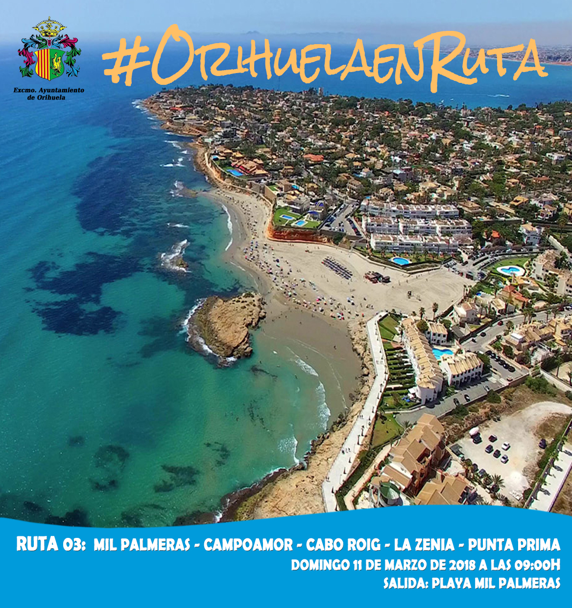"Next ""Orihuela en Ruta"" to take place on 11 March"