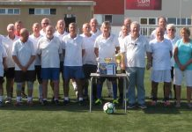 Playa Flamenca Walking Football competition