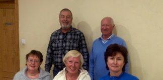 L-R Lorraine Phillips, Peter Phillips, Kate Bateman, Graeme Bateman and Claire Barrett.