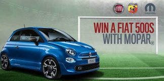 Win A Fiat 500s 1.2 With Mopar!