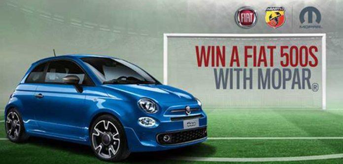 Win A Fiat 500s 1.2 With Mopar!