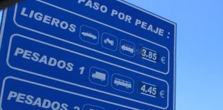 Motorway Toll in Spain