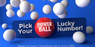 Pick your Powerball lucky numbers!