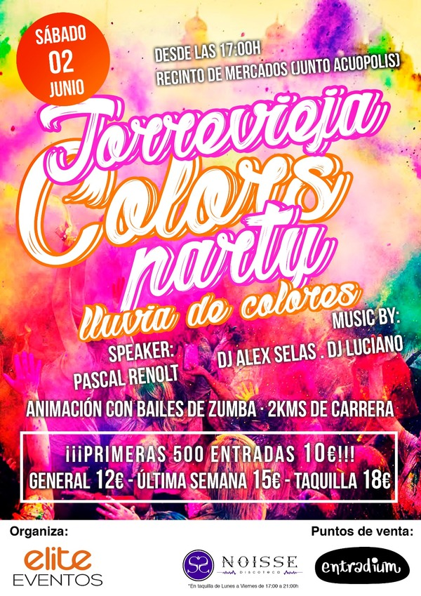 Torrevieja Council raise doubts over unauthorised Colors Party