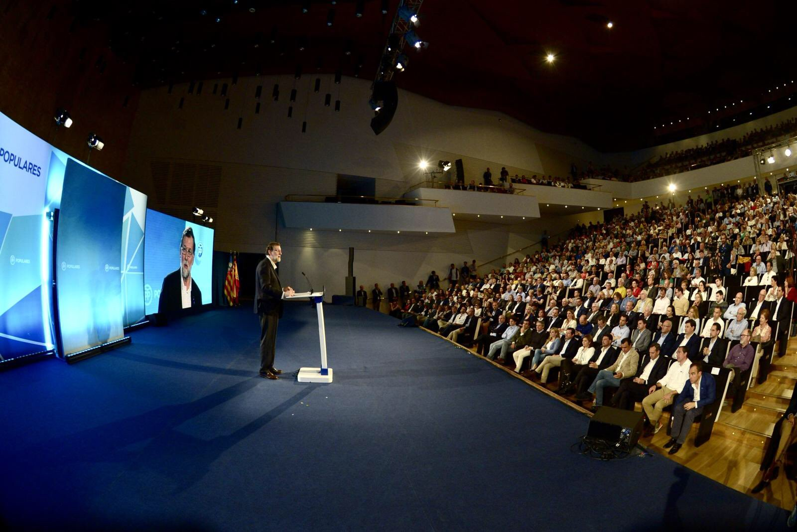 Rajoy goes on the offensive in Alicante