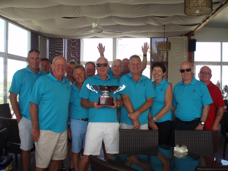 Ivie Davis memorial winning team