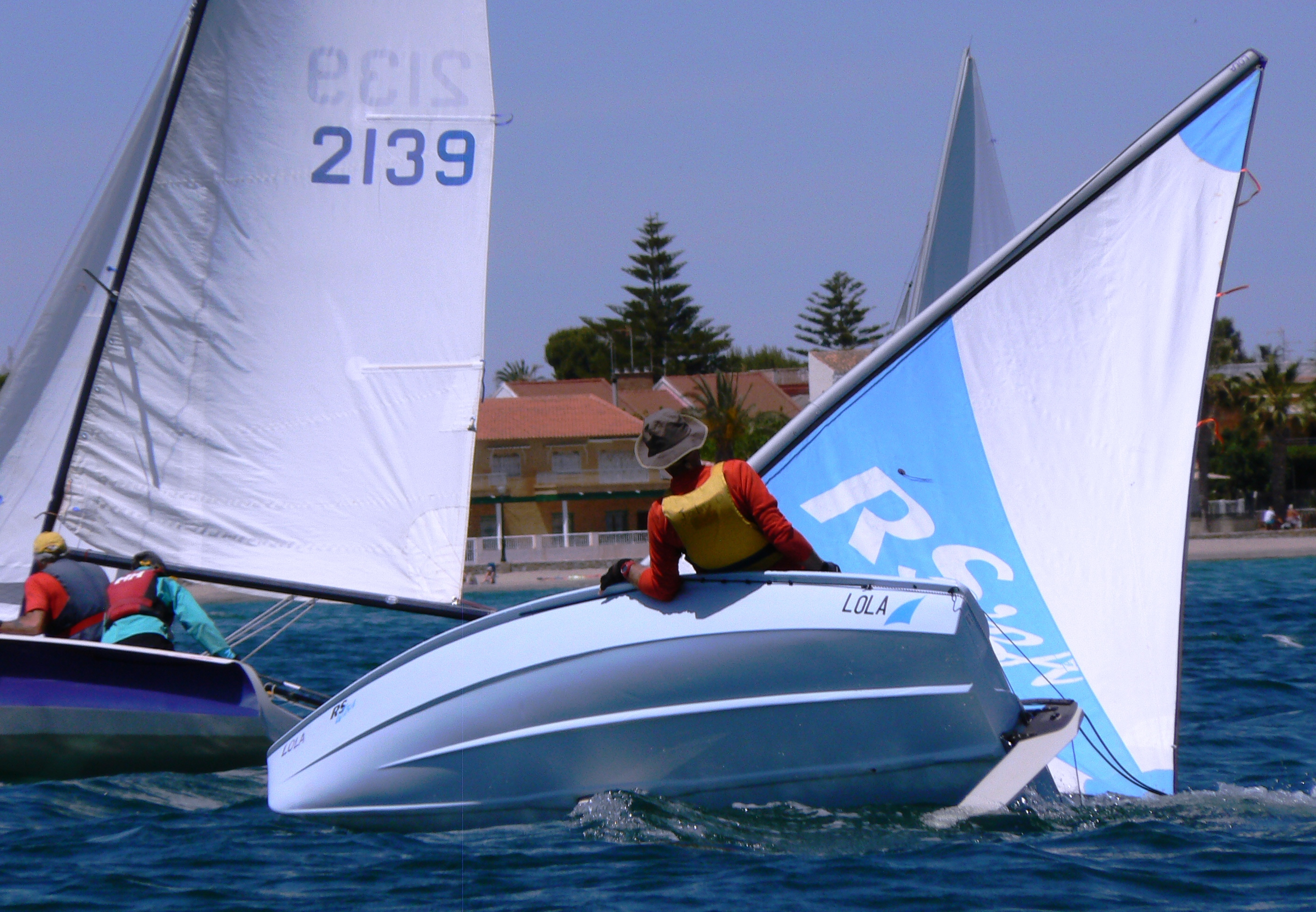 Wind conditions make for interesting SAMM Racing