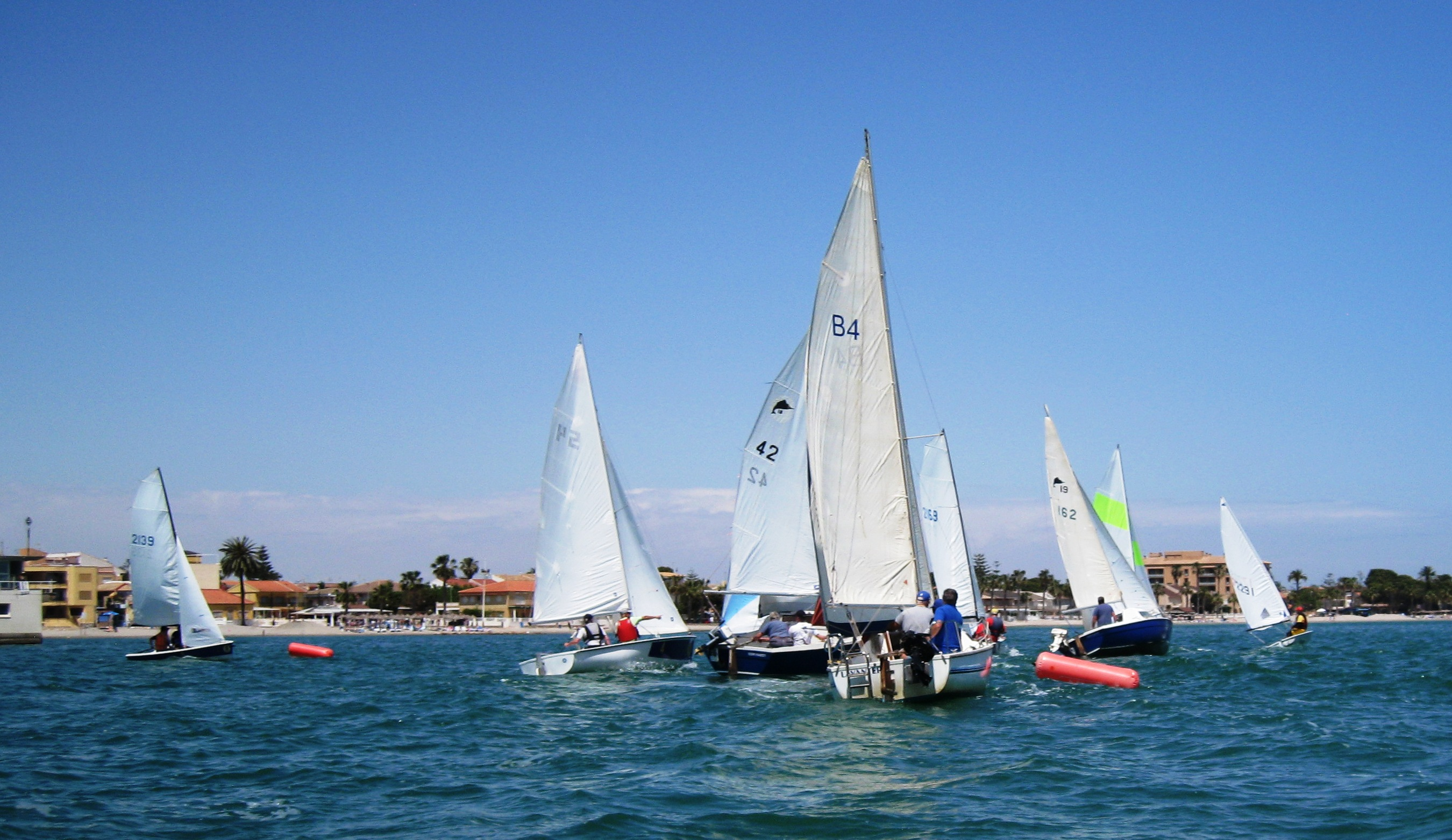 Start of the 2nd race