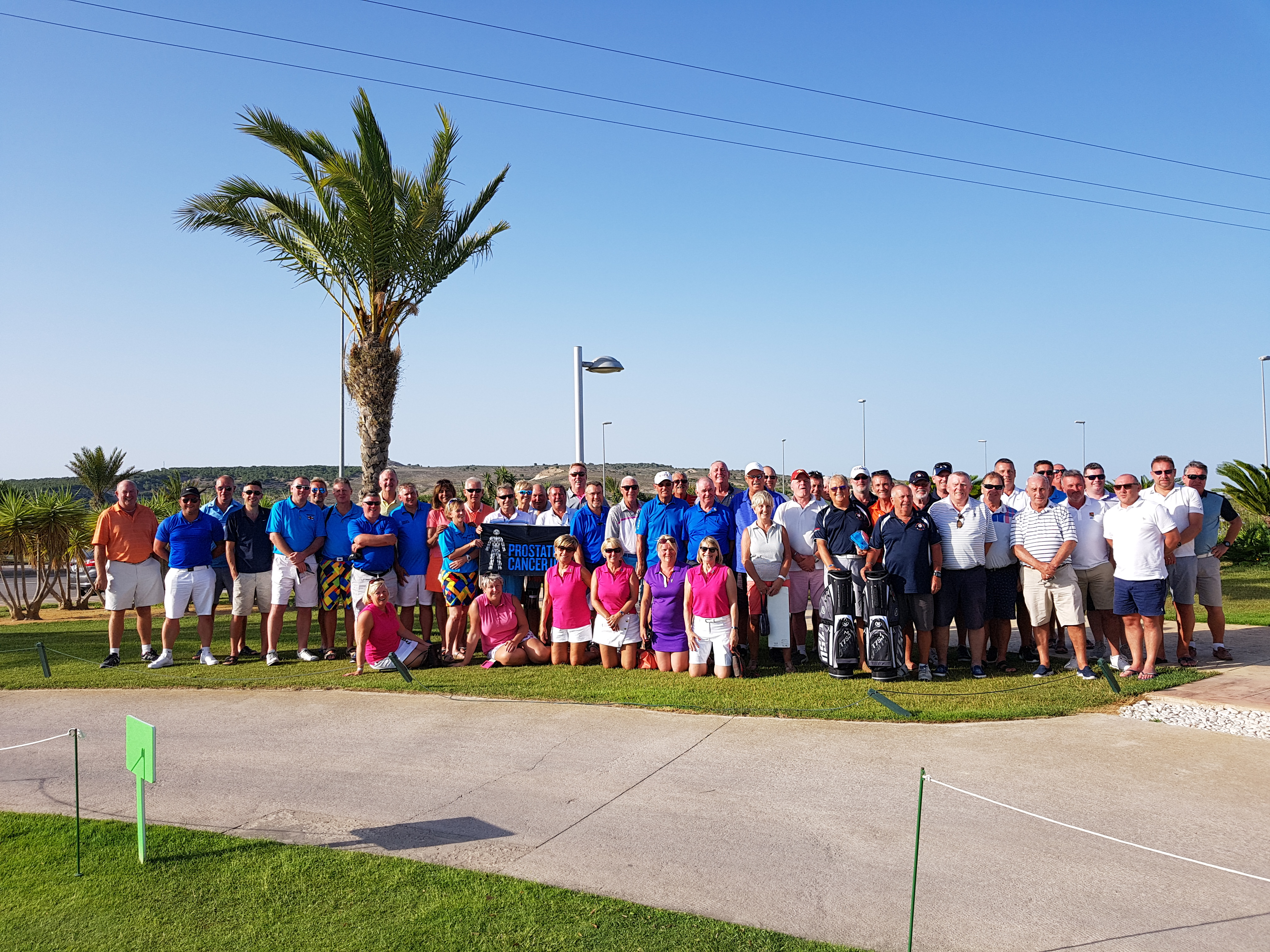 Almost 5000 euros for Prostate Cancer following charity golf day