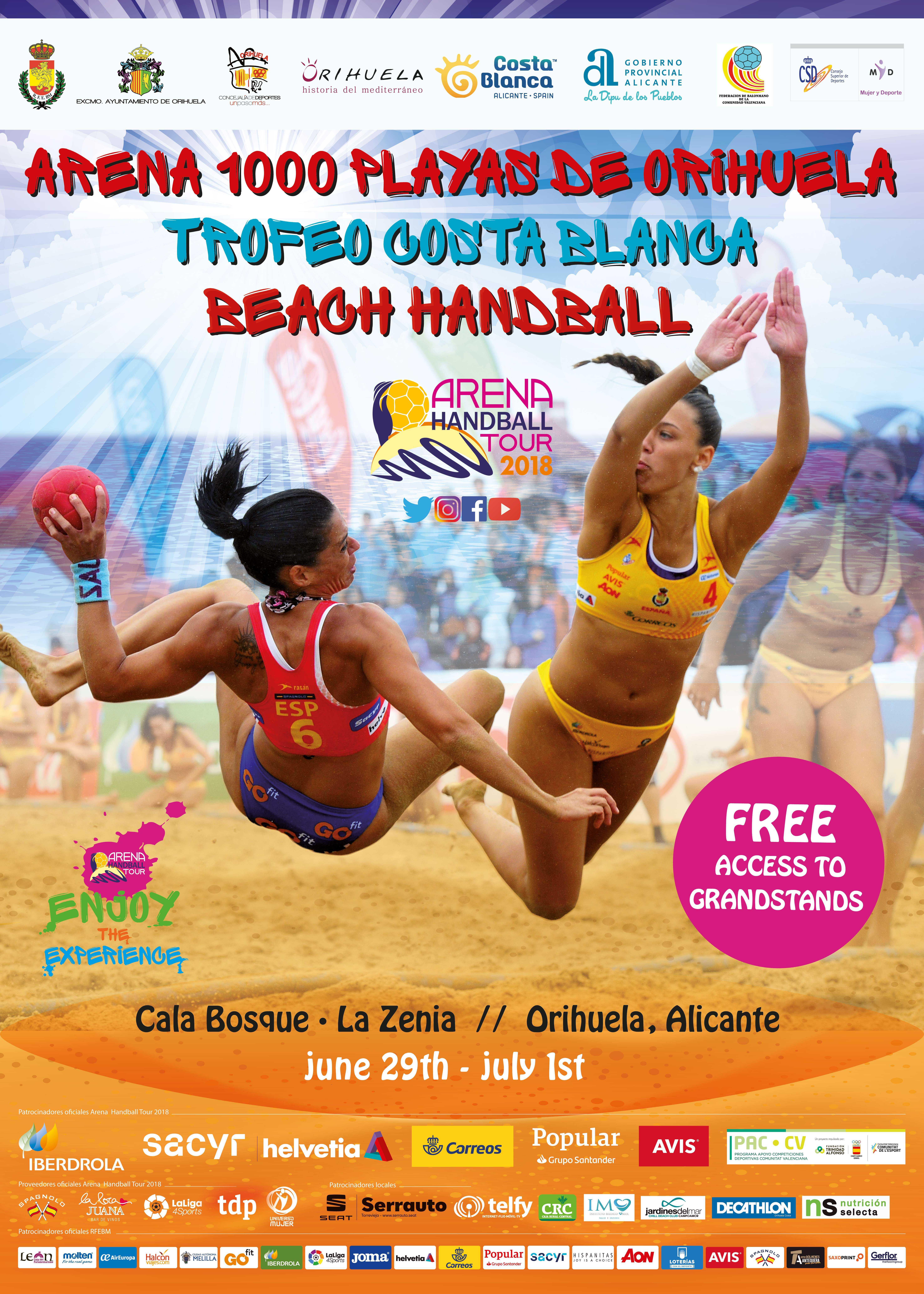 International Handball Weekend on Orihuela Costa
