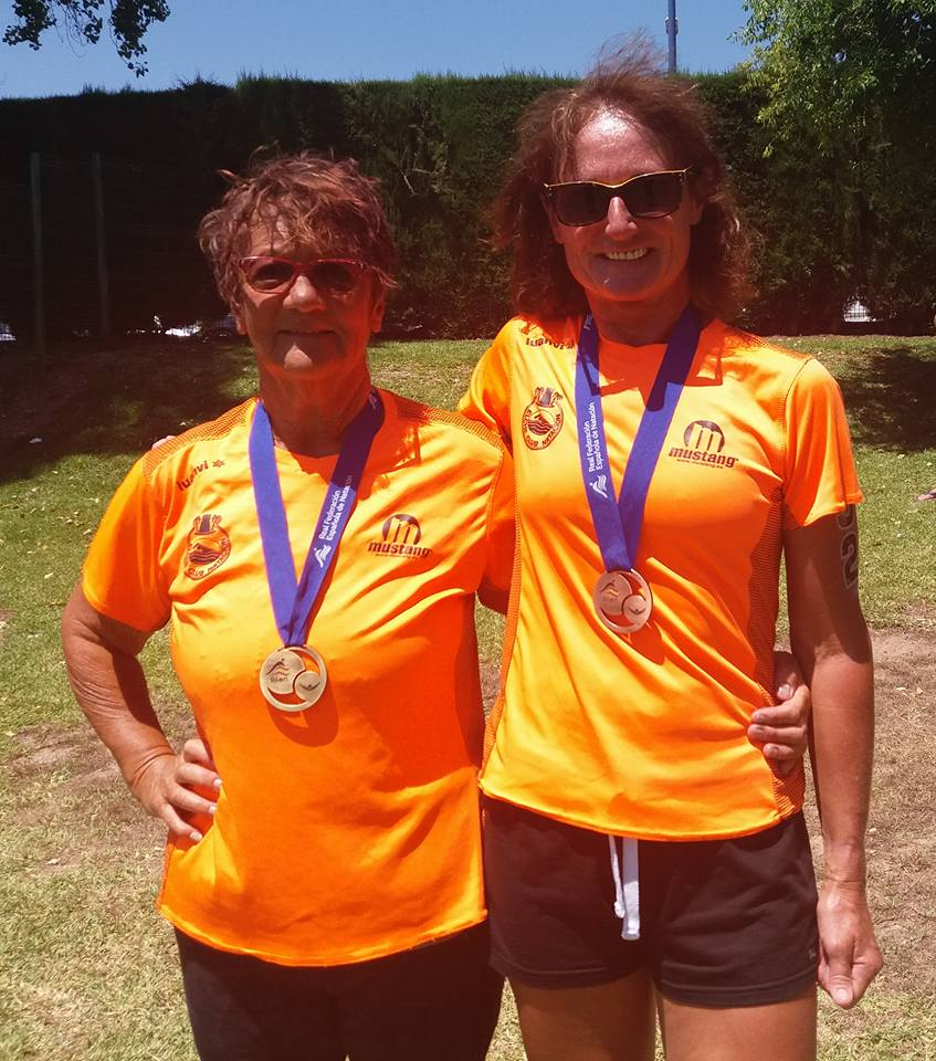 Medals in the Masters Spanish National Open Water Championships 2018