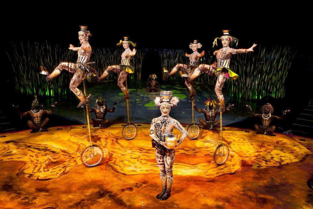 New production of Cirque Du Soleil in Alicante