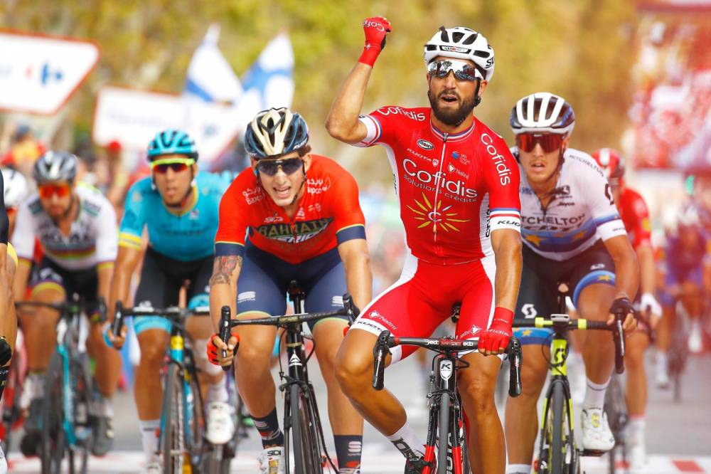 Image: www.theleader.info - Bouhanni claims maiden La Vuelta victory in San Javier