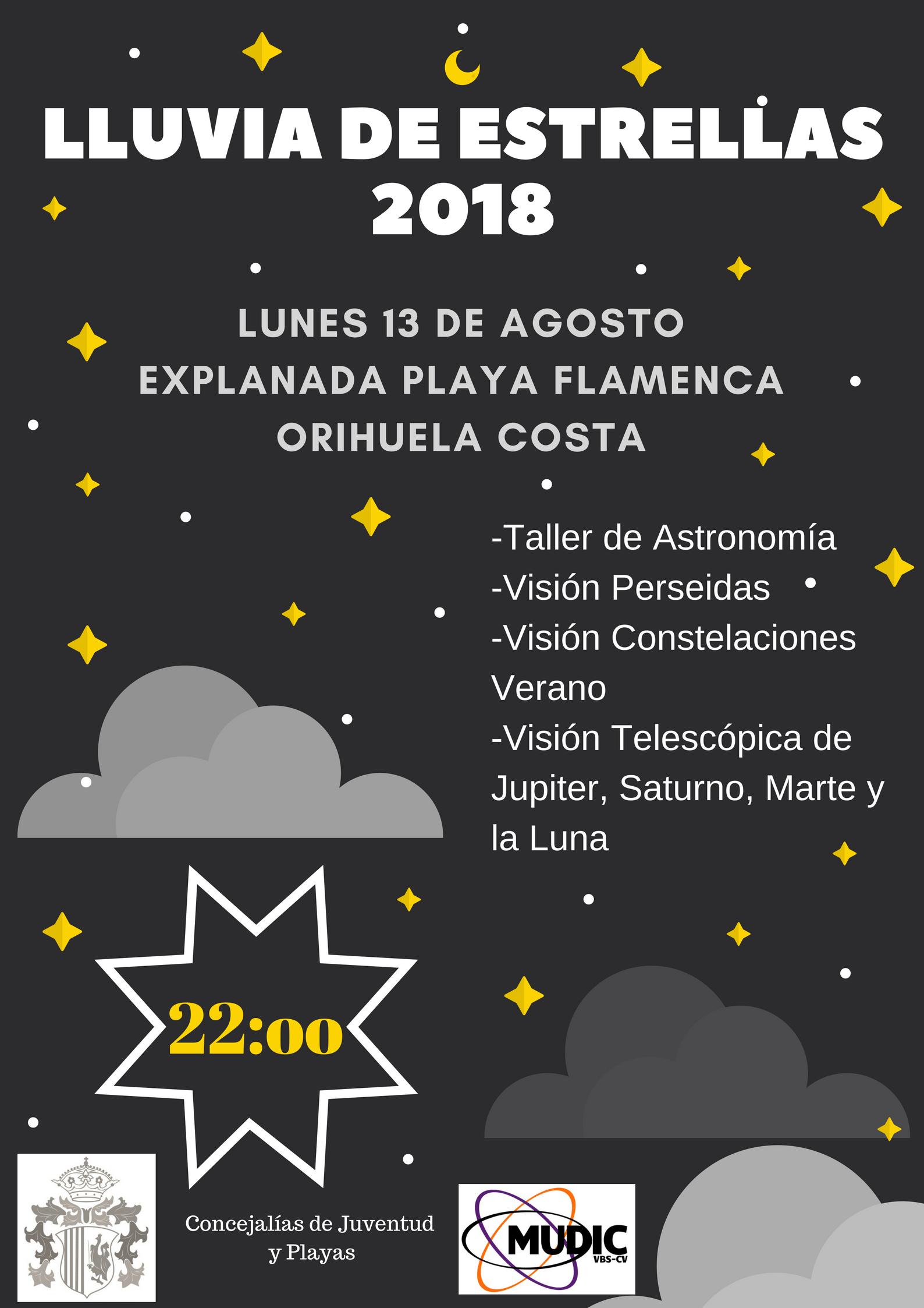 Astronomy Workshop Playa Flamenca