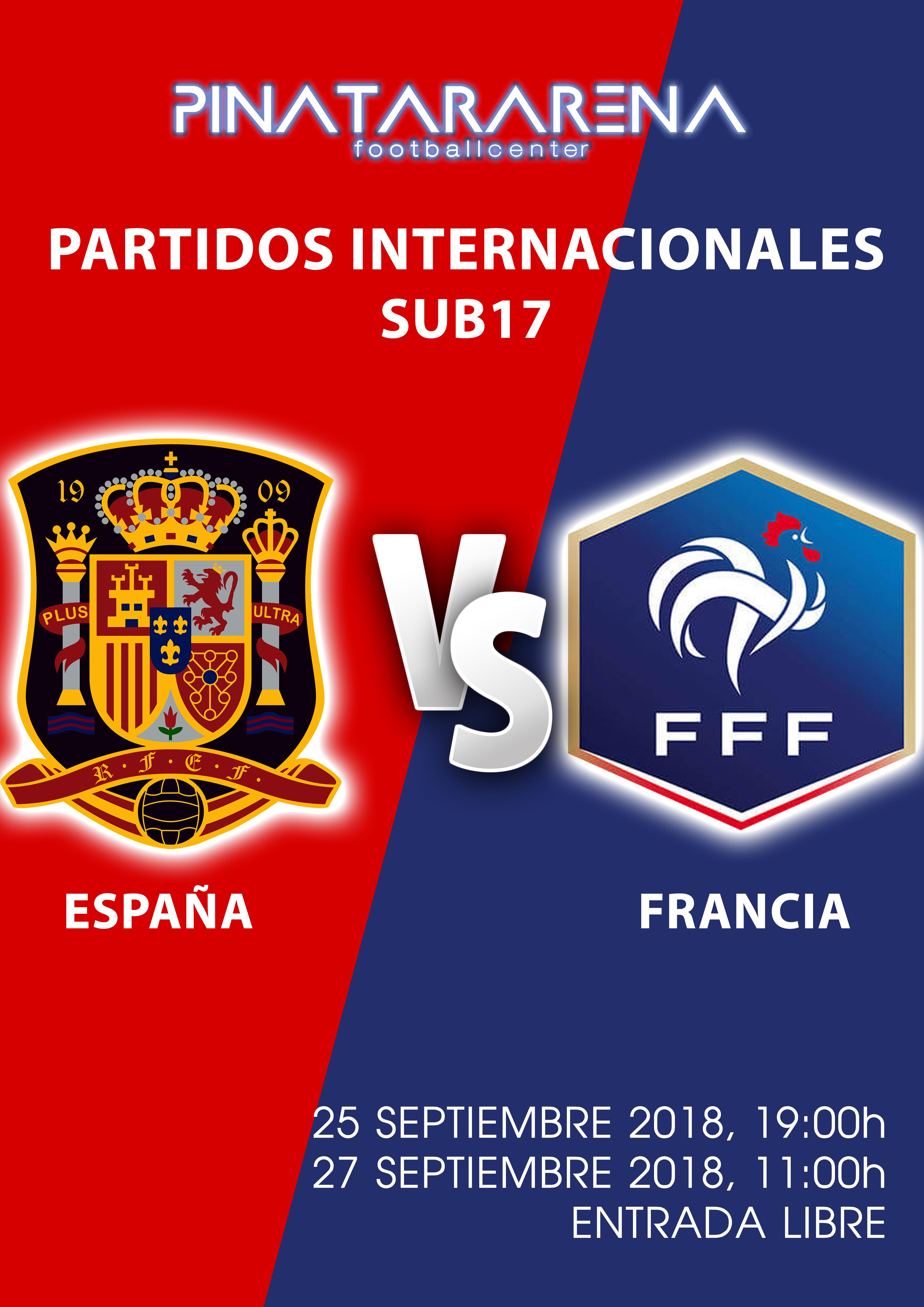 Spain v France Under 17 International at Pinatar Arena