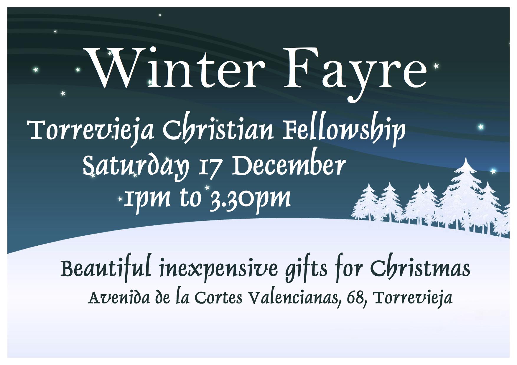 TCF Winter Fayre
